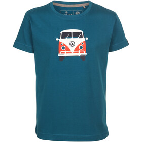 Elkline Teeins T-shirt Kinderen, blue coral